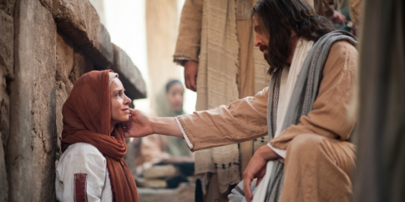 Image result for jesus holding woman